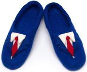 W.X. Тапочки-костюмы синие