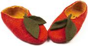 W.X. Тапочки-яблоки красные