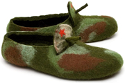 W.X. Тапочки-пушки камуфляжные