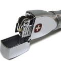 Коллекция Швейцарские бензиновые зажигалки 8 наименований стоимостью от 2528 до 2590 руб. Зажигалки Wenger – по-настоящему надежная бензиновая зажигалка. Стальной корпус, 4 запасных кремня и дополнительный резервуар для топлива. Если в зажигалке закончится бензин или кремень, то  – все всегда все есть с собой. Мощные и надежные швейцарские зажигалки Wenger цвета серебра, оружейного хрома, изготовленные в Японии, адаптированы для использования в непогоду и на ветру. Wenger – швейцарская точность, японское качество.