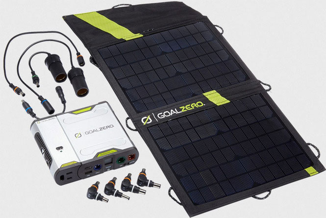 GoalZero Shepra 100 International Kit