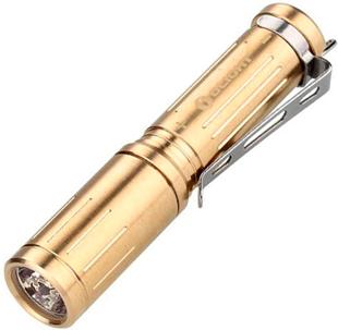 Olight i3S-CU Titanium Gold