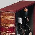 Коллекция Мини Бары 24 наименования стоимостью от 3140 до 16290 руб. Соответствует ли форма содержанию? Да, если речь идет о дорогих изысканных напитках: ароматное вино, контрастный горьковато-сладкий ликёр или обжигающая абсолютно прозрачная водка выглядят безупречно. Вы без труда узнаёте напиток, лишь мельком взглянув на этикетку – талан художников обнажил суть вещей. Быть может сегодня этого мало? Тогда позвольте рекомендовать оригинальный минибар для дома – натуральная высококачественная кожа, изумительная отделка деталей и, конечно, максимальное удобство пользования. Выполненный в форме книги, сундука, тубуса такой домашний мини бар станет великолепной провокационной оправой.