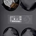 Коллекция Шкатулки для механических часов Corona 17 наименований стоимостью от 8500 до 319000 руб. Компания Elma, благодаря своему качеству и надежности, довольно длительное время, занимает лидирующие позиции в сфере шкатулок и механизмов для подзавода часов. С недавних пор, Elma усовершенствовала и одновременно упростила управление шкатулками, переведя их с механического управления на электронное. Шкатулки серии Corona, оснащены LCD дисплеем, это не только делает их более удобным, но и выводит их на новый более универсальный уровень