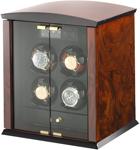 ELMA motion Corona 4 burlwood / glass doors